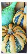 Fall Harvest Beach Towel