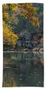 Fall In Arkansas Beach Towel