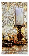 Fantasy Candle Beach Towel