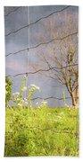 Farm Scene - A New Perspecitve Beach Towel by Garvin Hunter