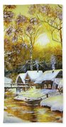 Feerie Winter Beach Towel