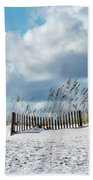 Fences In The Sand Beach Towel