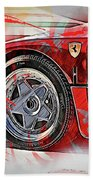 Ferrari F40 - 11 Beach Towel