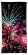 Fireworks 2019 One Beach Towel