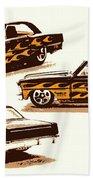 Flamin Chevrolet 66 Nova Beach Sheet