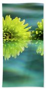 Floating Daisies 2 Beach Towel by Dawn Richards