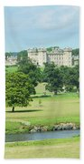 Floors Castle And River Tweed Beach Towel