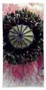 Floral Geometry Beach Towel