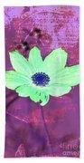Flower 2918 Beach Sheet