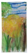 Flowers In A Forest Beach Towel