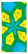 Flowers Number 36 Beach Sheet