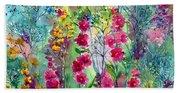 Flowery Fairy Tales Beach Sheet