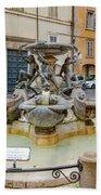 Fontana Delle Tartarughe Beach Sheet