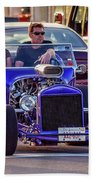 Ford T-bucket Hot Rod Beach Towel