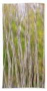 Forest Twist And Turns In Motion Beach Towel