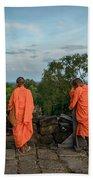 Four Monks And A Phone. Beach Sheet
