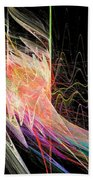 Fractal Beauty Deluxe Colorful Beach Towel by Don Northup