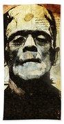 Frankenstein's Notebooks Beach Towel