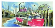 Fundy Tide Hall's Harbour Beach Towel