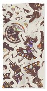 Games And Fairytales Beach Towel