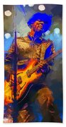 Gary Clark Jr Beach Towel