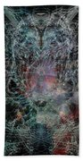Ghost Galaxy  Beach Towel