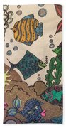 Gils Night Out Beach Towel