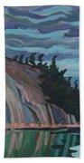 Gitchi-gami Cove Cliff Beach Towel