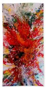 Glory Explosion Beach Towel