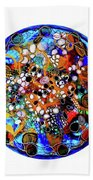 Go With The Flow 1 Beach Towel by Mimulux patricia No
