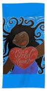 Goddess Of Wild Hearts Beach Sheet