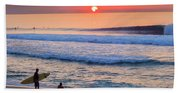 Gold Cup Sunset Beach Towel
