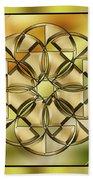Gold Design 24 Beach Towel
