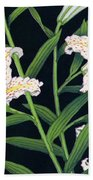 Golden-banded Lily - Digital Remastered Edition Beach Towel
