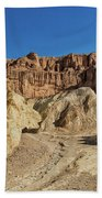 Golden Canyon's Red Cathedral Beach Towel