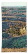 Golden Grasslands Enchantment Beach Sheet