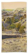 Golden Prairie Realm Reverie Beach Towel