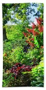 Gorgeous Gardens At Cornell University - Ithaca, New York Beach Sheet