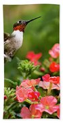 Graceful Garden Jewel Beach Towel