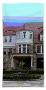 Graceland Mansion  Beach Towel