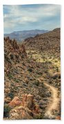 Grapevine Mountain Trail Beach Sheet