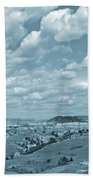 Grasslands Shadow Dance Beach Towel
