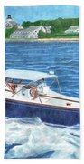 Great Ackpectations Nantucket Beach Towel by Dominic White