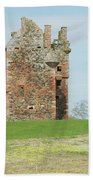Greenknowe Tower Ruin Beach Towel