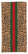 Gucci Leopard Print-1 Beach Towel