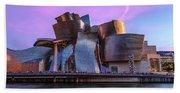Guggenheim Museum - Bilbao, Spain Beach Towel