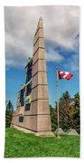 Halifax Explosion Memorial Bell Tower Beach Sheet