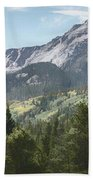 Hallett Peak Colorado Beach Towel