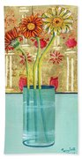 Indian Hand Painted Palace Wall Beach Towel