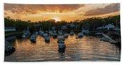 Harbor Sunset Beach Sheet